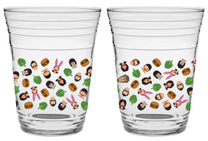 Glass 19 'Burgers n Stuff' Party Cup