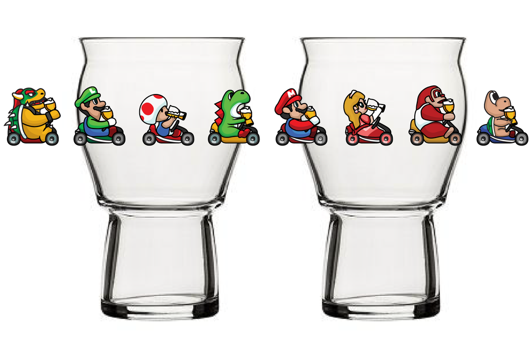 Glass 98 'Chug Kart SNES'