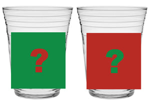 Glass 97 'Doh-mas' Mystery Party Cup