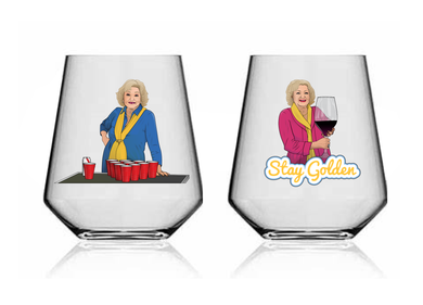 Glass 108* 'I Love Betty White'