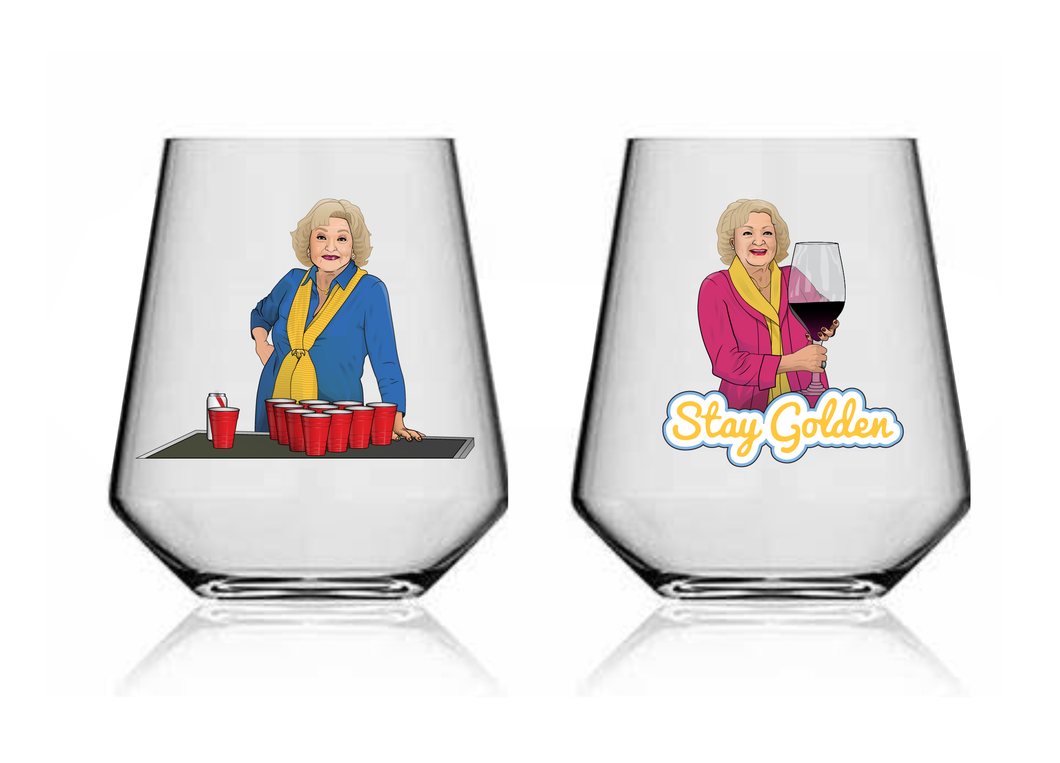 Glass 108* 'I Love Betty White' Pre-Order(Shipping early March)