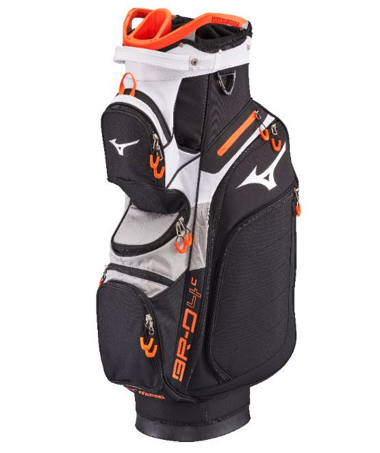 Mizuno BR-D4C Cart Bag Black Grey