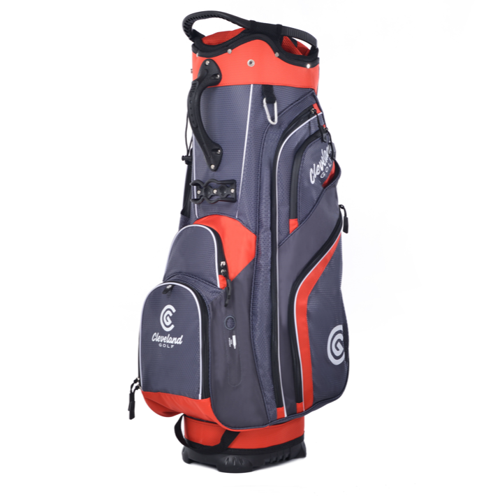 Cleveland 2019 Cart Bag - Charcoal Red