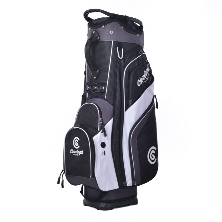 Cleveland 2019 Cart Bag - Black Charcoal White