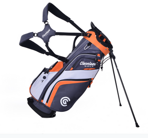 Cleveland 2019 Stand Bag Charcoal/Orange/White