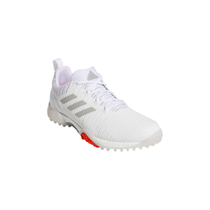 adidas CODECHAOS Golf Shoes FTWR WHITE/METAL GREY/LGH SOLID GREY