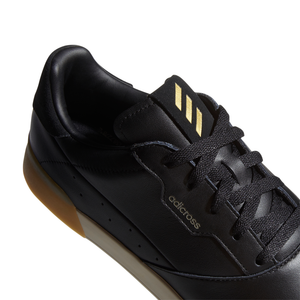 adidas adicross Retro Golf Shoes CORE BLACK/GOLD MET./CLEAR BROWN