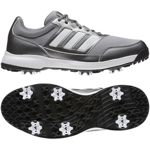 adidas Tech Response 2.0 Golf Shoes IRON MET./FTWR WHITE/SCARLET