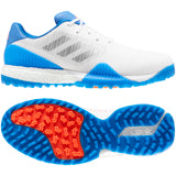 adidas CODECHAOS Sport Golf Shoes FTWR WHITE/SILVER MET/GLORY BLUE