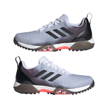 adidas CODECHAOS Golf Shoes FTWR WHITE/CORE BLACK/LIGHT FLASH ORANGE
