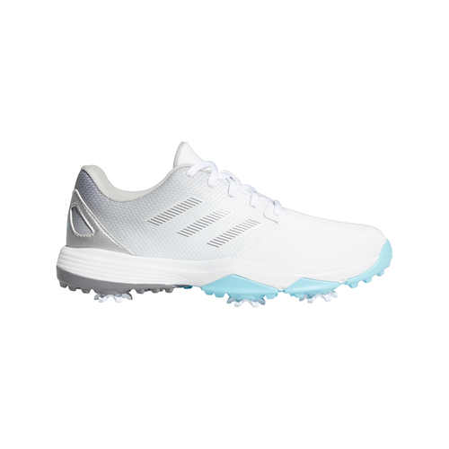 adidas ZG21 Junior Golf Shoes FTWR WHITE/GREY THREE/HAZY SKY