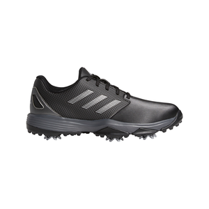 adidas ZG21 Junior Golf Shoes CORE BLACK/SILVER MET./DARK SILVER METALLIC
