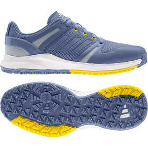 adidas EQT Spikeless Golf Shoes CREW BLUE/CREW BLUE/CREW YELLOW