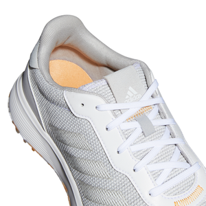 adidas S2G Spikeless Golf Shoes GREY THREE/FTWR WHITE/HAZY ORANGE