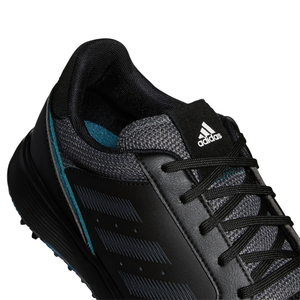 adidas S2G Golf Shoes CORE BLACK/GREY SIX/WILD TEAL