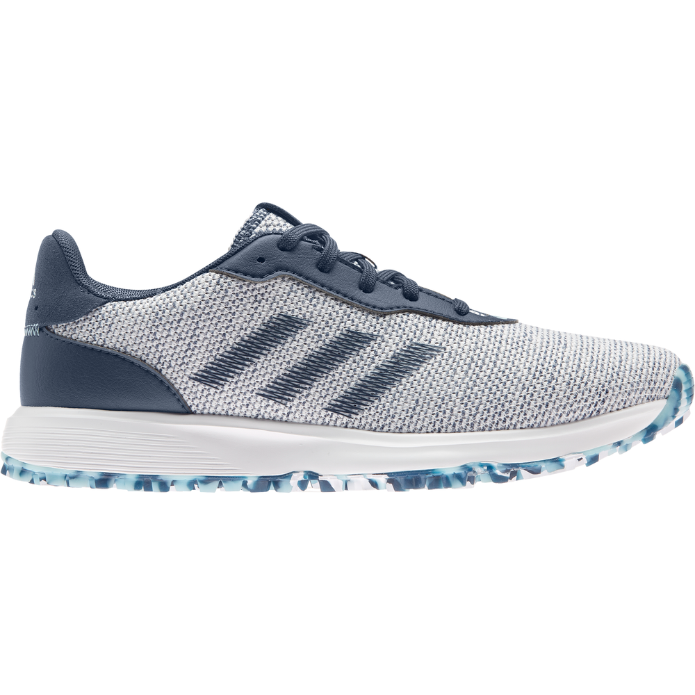adidas S2G Spikeless Golf Shoes CREW NAVY/FTWR WHITE/HAZY SKY