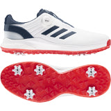 adidas EQT BOA Golf Shoes FTWR WHITE/CREW NAVY/SCARLET
