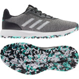 adidas S2G Spikeless Golf Shoes CORE BLACK/FTWR WHITE/ACID MINT