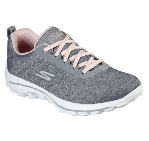 Skechers Go Walk Sport Women's Grey/Pink