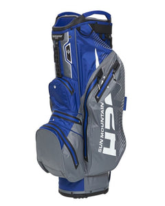 Sun Mountain H2NO Lite Cart Bag Nickel/Blue