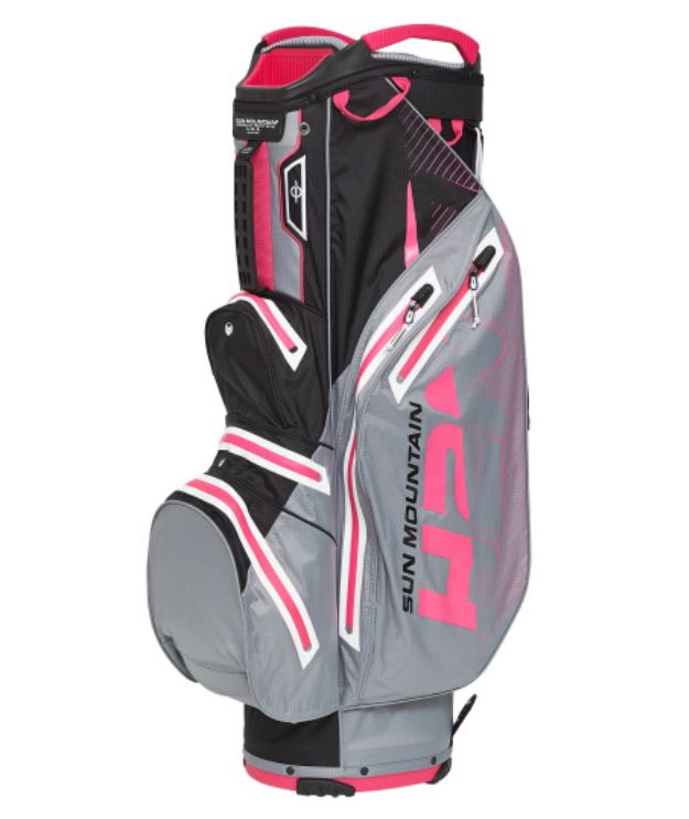 Sun Mountain H2NO Lite Cart Bag Cadet/Black/Pink