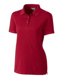 CB DryTec Advantage Women's Polo Cardinal Red