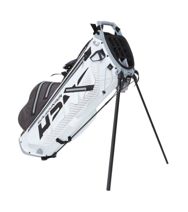 Sun Mountain H2NO Stand White/Gunmetal