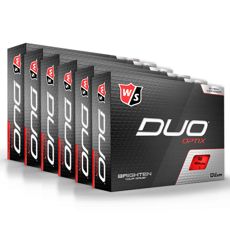 Wilson Staff Duo Optix Red Multi Buy