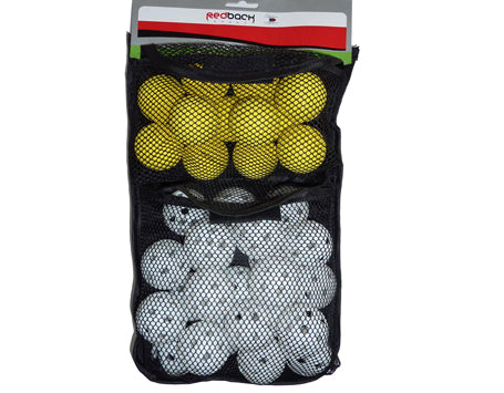 Redback Sport Pk of 24 Air Balls + 12 Foam Balls