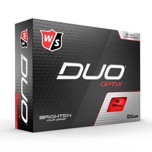 Wilson Staff Duo Optix Red