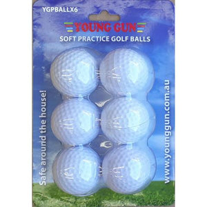 Young Gun 6 PVC Ball Pack