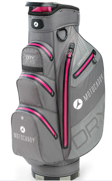 Motocaddy Dry Series Charcoal/Fushia