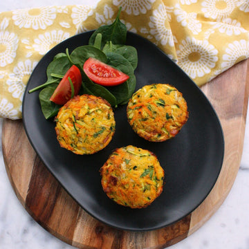 Veggie and Polenta Muffins