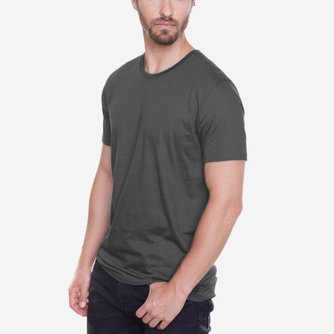 Egyptian Cotton Crew Dark Grey Fierri T-shirt
