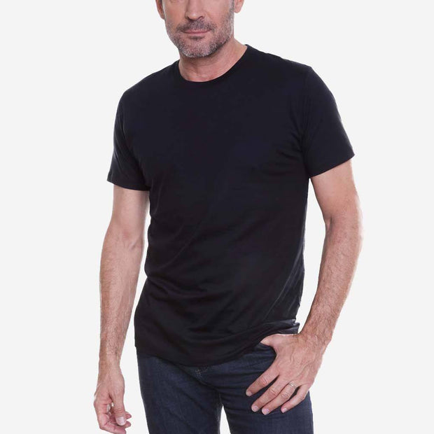 Egyptian Cotton Crew Perfect Black