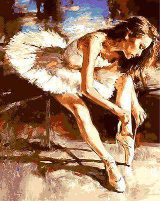 Ballet Dancer - Paint by Numbers Kits for Adults DIY - Paint by Numbers for Adults