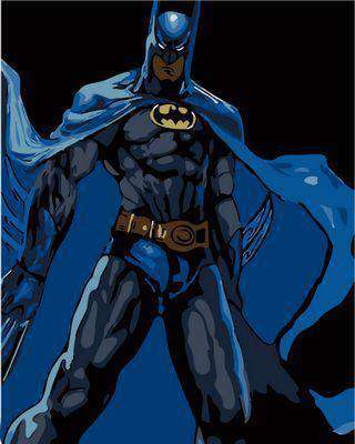 Batman Movie Heroes - Paint by Numbers Kits for Adults DIY - Paint by Numbers for Adults