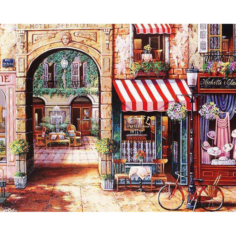Charming Store - Paint by Numbers Kits for Adults DIY