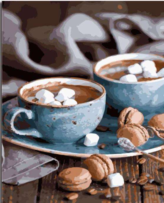 Coffee for 2 - Paint by Numbers Kits for Adults DIY