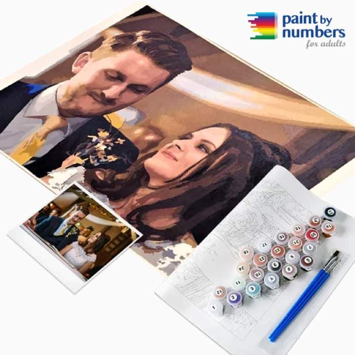 Customized Paint By Numbers Kit - Paint by Numbers for Adults