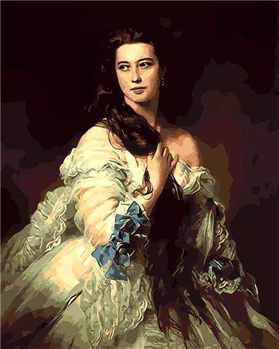 Franz Xavier Winterhalter, Madame Rimsky Korsakov, 1864 - Paint by Numbers Kits for Adults DIY