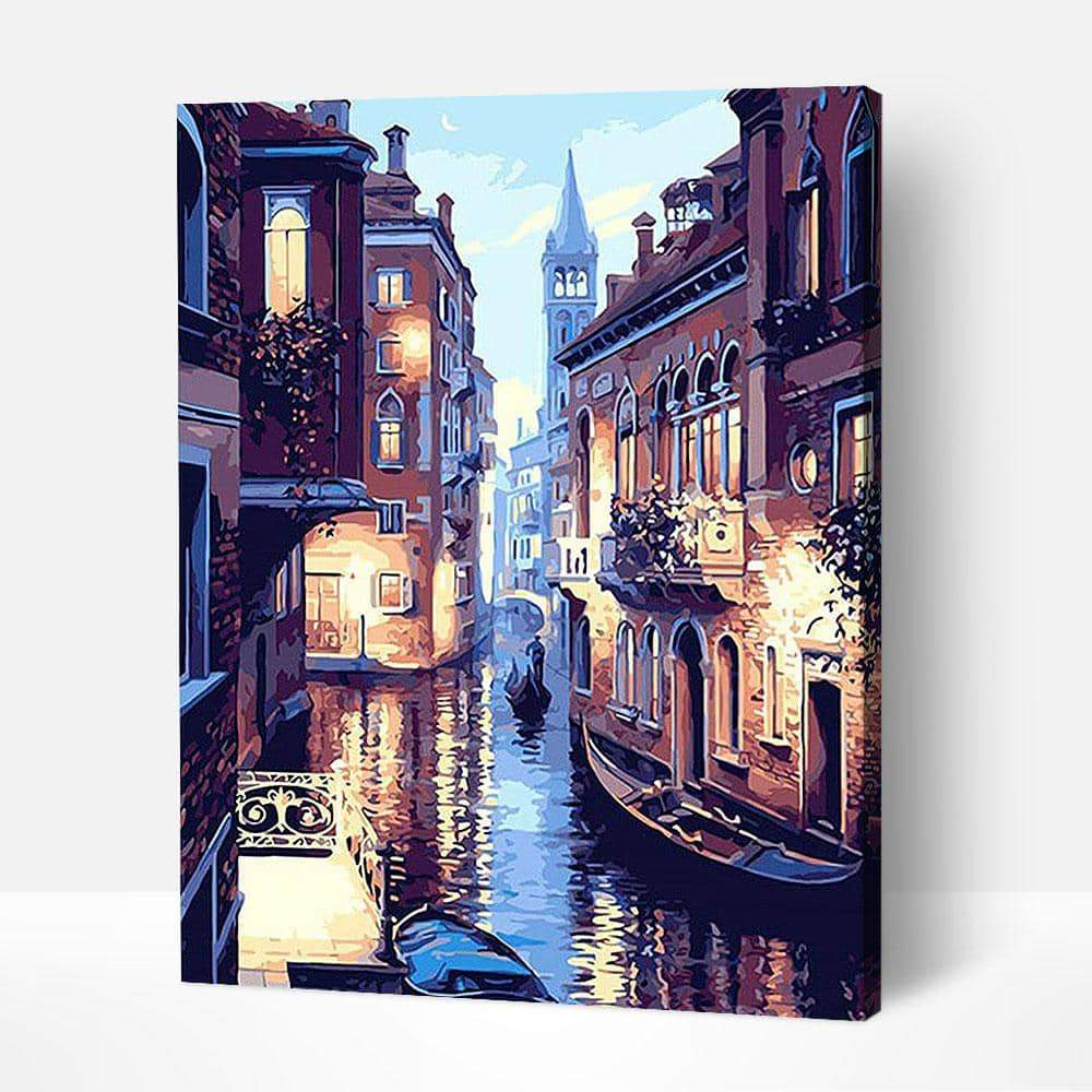 Lights of Venice - Paint by Numbers Kits for Adults DIY