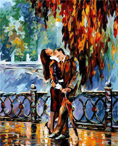 Love after Work - Paint by Numbers Kits for Adults DIY