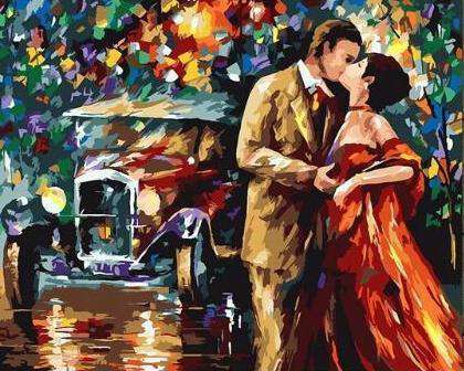 Love in the 30`s - Paint by Numbers Kits for Adults DIY