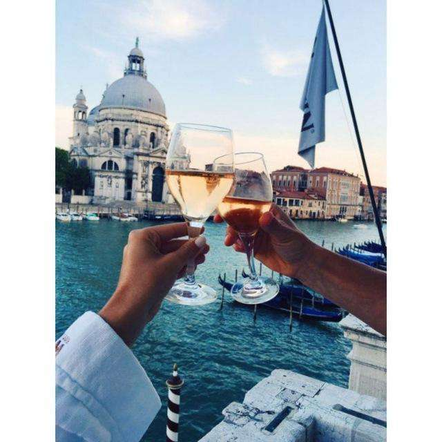 New Years Toast in Venice - Paint by Numbers Kits for Adults DIY