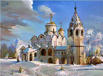 St Petersburg Russia - Paint by Numbers Kits for Adults DIY