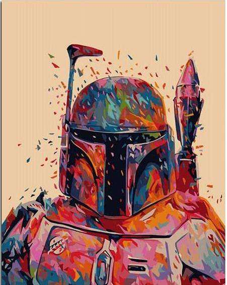 Star Wars Hunter - Paint by Numbers Kits for Adults DIY