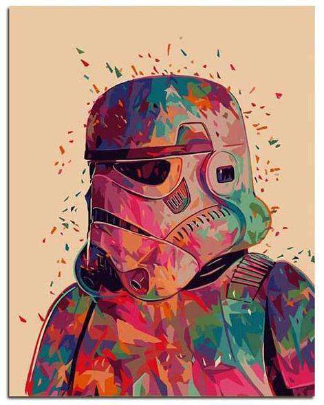 Star Wars Stormtrooper - Paint by Numbers Kits for Adults DIY