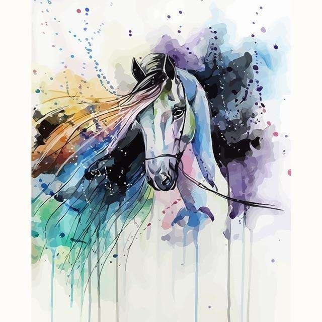 Tamed Horse - Paint by Numbers Kits for Adults DIY
