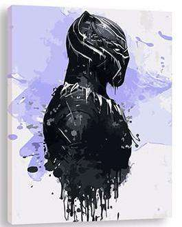The Avengers Black Panther - Paint by Numbers Kits for Adults DIY